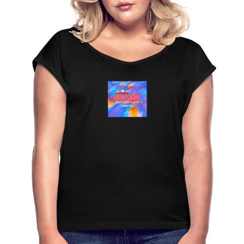 Logo HUSKY - T-shirt à manches retroussées Femme