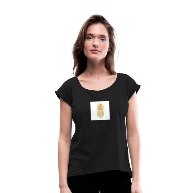 T-shirt avec ananas sur le côté