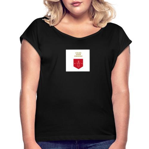 CS:GO hver torsdag - Dame T-shirt med rulleærmer