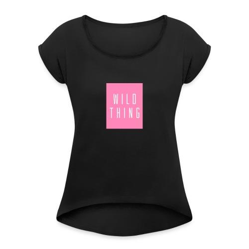 Tazza Wild ♥ itsmesilvy - Maglietta da donna con risvolti
