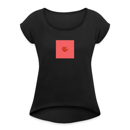 17909270 1834950816753512 838554522 n 1 - Women's T-Shirt with rolled up sleeves