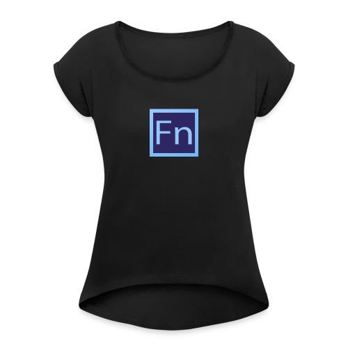 Borraccia falsonome FN - Maglietta da donna con risvolti