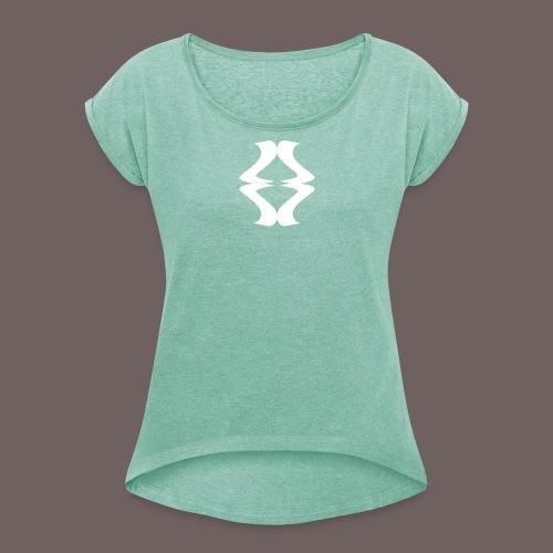 GBIGBO zjebeezjeboo - Rock - As de pique - T-shirt à manches retroussées Femme
