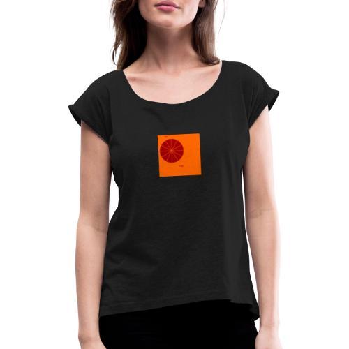 soirfine - Frauen T-Shirt mit gerollten Ärmeln