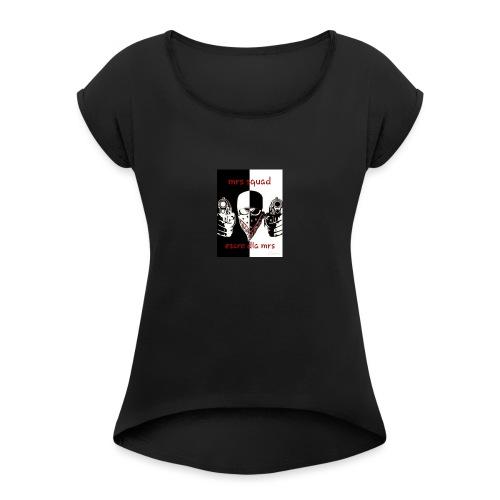 ESCRO - T-shirt à manches retroussées Femme