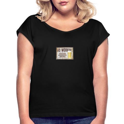 a ta santé - T-shirt à manches retroussées Femme