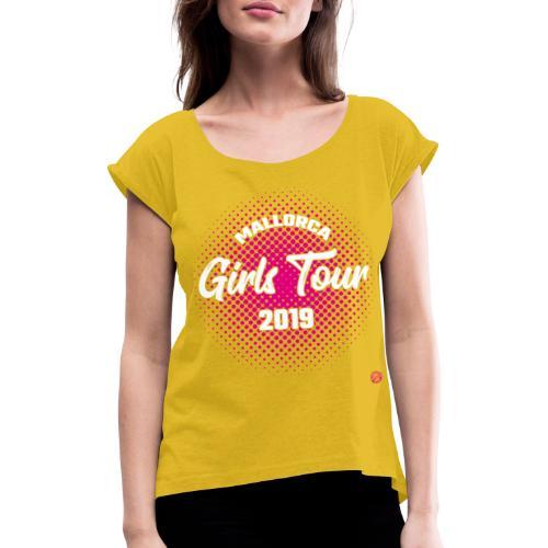 MALLORCA TOUR 2019 Shirt MALLE MEISJES Dames Dames - Vrouwen T-shirt met opgerolde mouwen