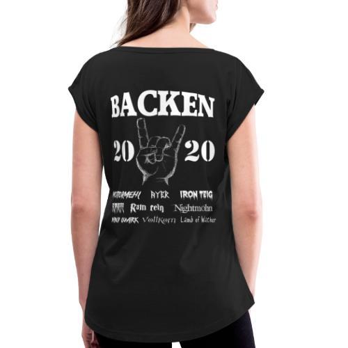 Backen 2020 | Lustiges Backen mit den größten - Frauen T-Shirt mit gerollten Ärmeln