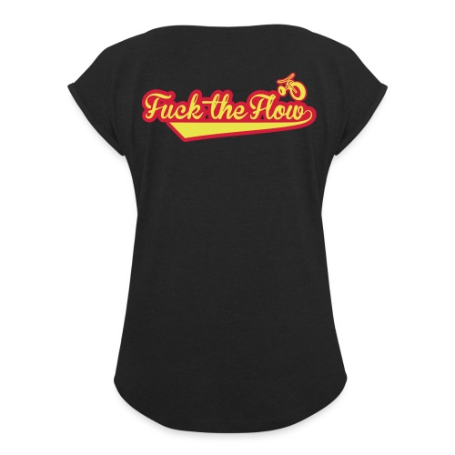 FTF TECHNICAL T-SHIRT - Maglietta da donna con risvolti