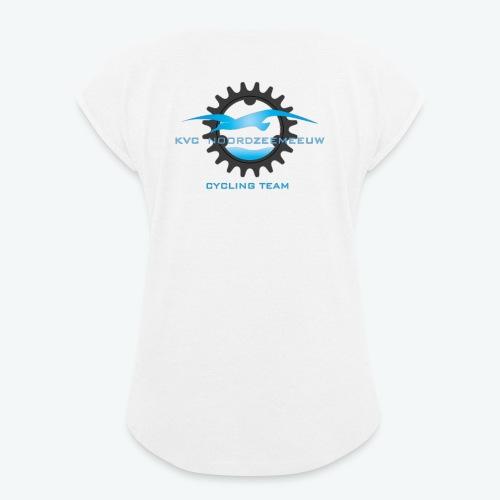 kledijlijn NZM 2017 - Vrouwen T-shirt met opgerolde mouwen