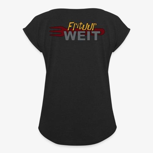 Weit Original - Vrouwen T-shirt met opgerolde mouwen