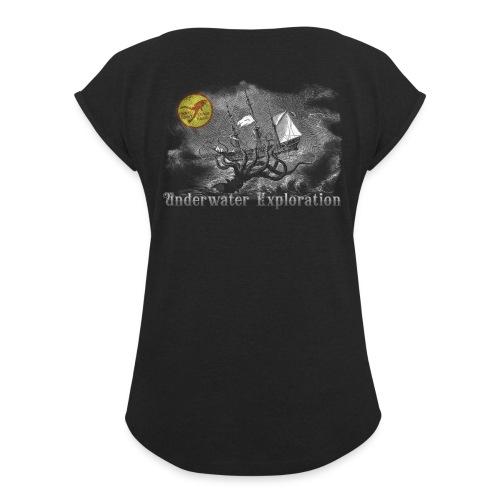 MSDK Kraken - T-shirt med upprullade ärmar dam