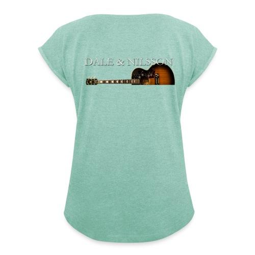 Dale & Nilsson - Dame T-shirt med rulleærmer