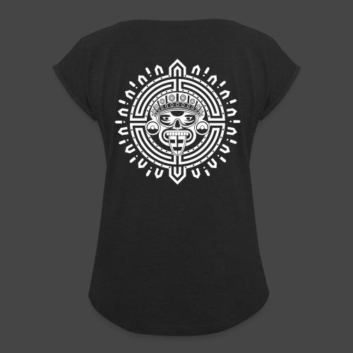 Maya, Inca et Aztec 23 - T-shirt à manches retroussées Femme