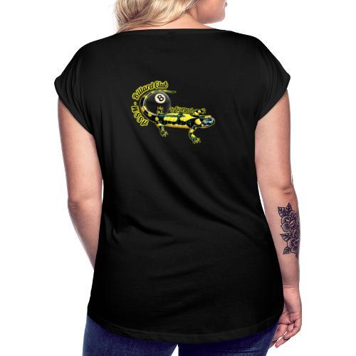 Logo ASSM Billard - T-shirt à manches retroussées Femme