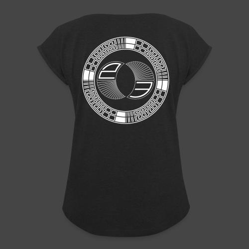tekno 23 - T-shirt à manches retroussées Femme