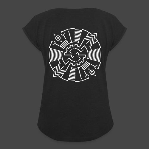 Tekno 23 Spirito - Maglietta da donna con risvolti