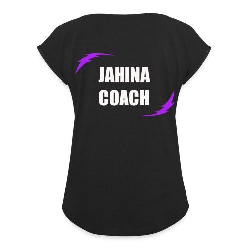 JHNA 002 - T-shirt à manches retroussées Femme