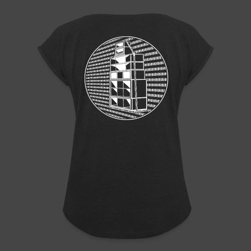 Sistema audio Tekno 23 23 23 - Maglietta da donna con risvolti