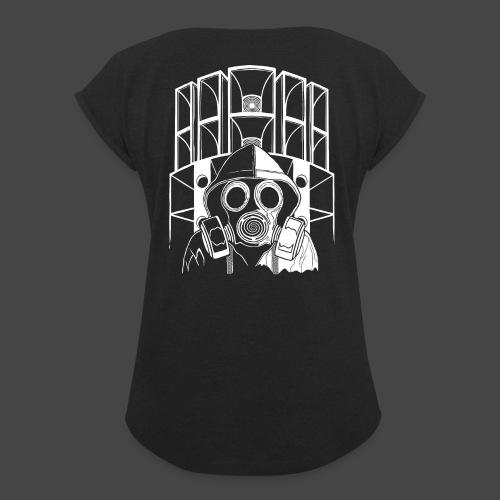 tekno 23 masque à gaz - T-shirt à manches retroussées Femme