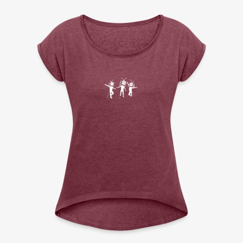 Wrong Men - Women's T-Shirt with rolled up sleeves