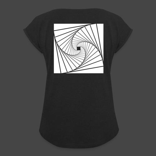 spirale 23 - T-shirt à manches retroussées Femme