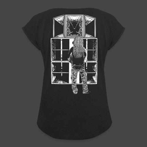 Tekno 23 Système - T-shirt à manches retroussées Femme