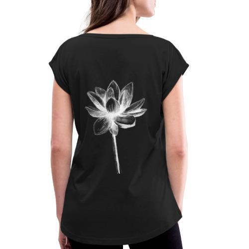 Lotus - T-shirt à manches retroussées Femme