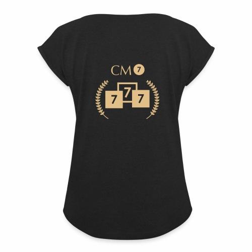 CM7 - Frauen T-Shirt mit gerollten Ärmeln