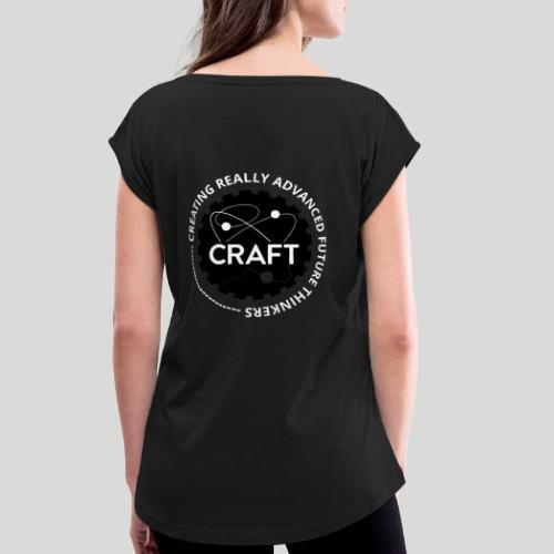 CRAFT - Dame T-shirt med rulleærmer