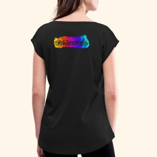Fastatic Smoke - Frauen T-Shirt mit gerollten Ärmeln