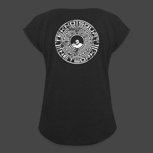 Tekno Squat Network - T-shirt à manches retroussées Femme