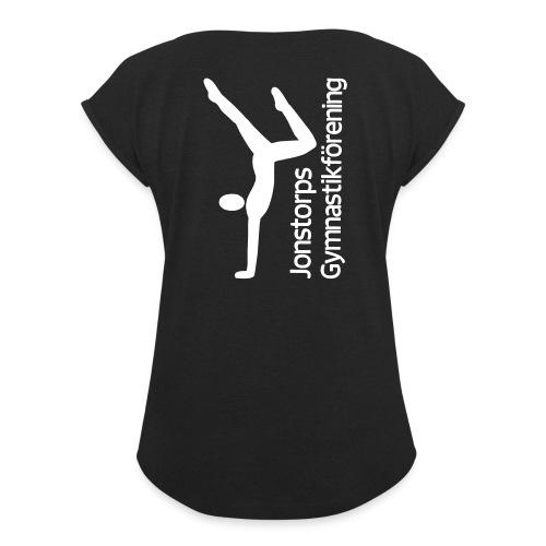 Jonstorps Gymnastikförening - T-shirt med upprullade ärmar dam