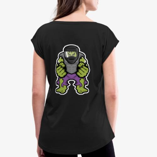 sparta - Frauen T-Shirt mit gerollten Ärmeln