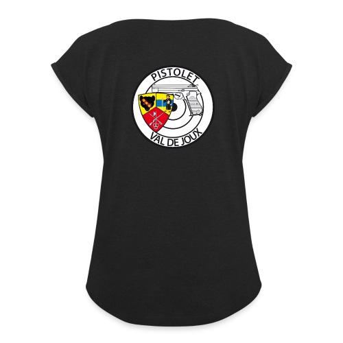 Pistolet Val de Joux - T-shirt à manches retroussées Femme