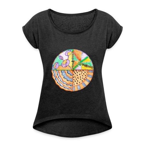 Purifying Creativity GIMP sfondo trasparente gif - Maglietta da donna con risvolti