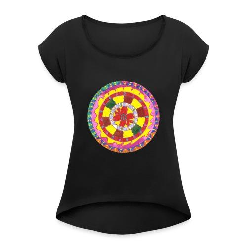 Creativity Heart gif - Maglietta da donna con risvolti