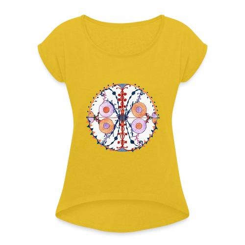 Creativity Butterfly gif - Maglietta da donna con risvolti