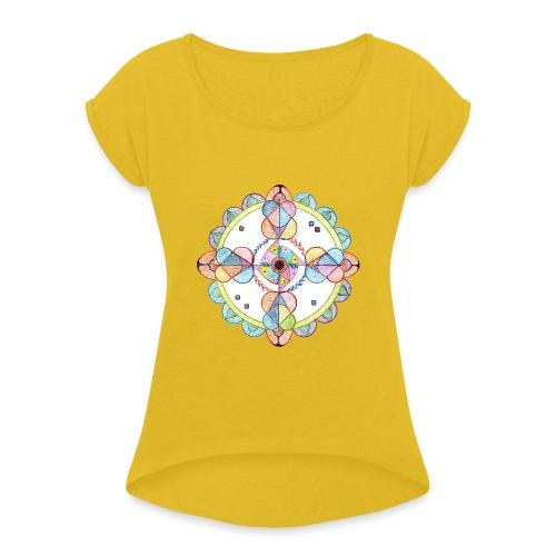 Creativity Harmony originale JPG gif - Maglietta da donna con risvolti