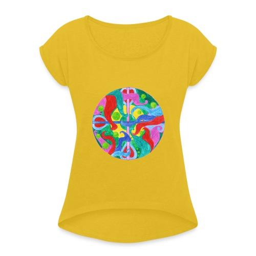 Creativity Balance gif - Maglietta da donna con risvolti