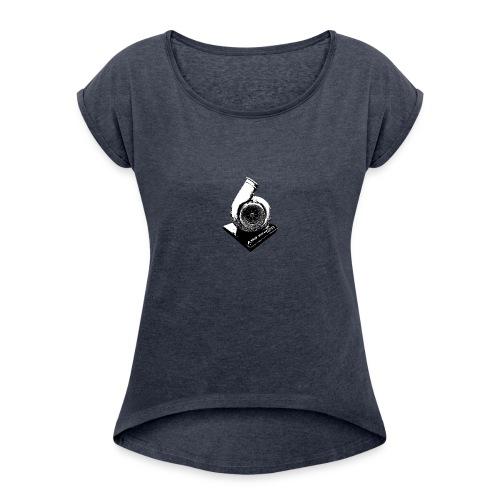 Turbo - Frauen T-Shirt mit gerollten Ärmeln