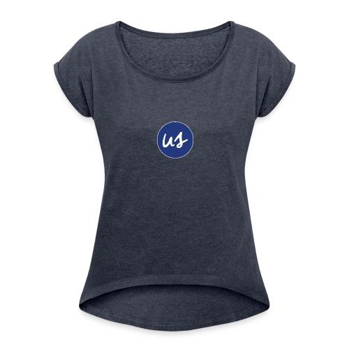 Picto US - T-shirt à manches retroussées Femme