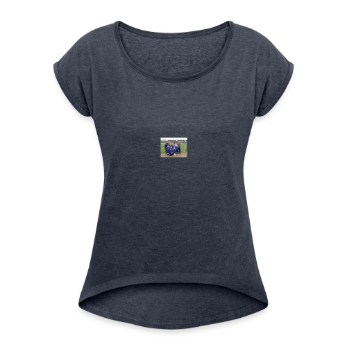 wekly - Women's T-Shirt with rolled up sleeves