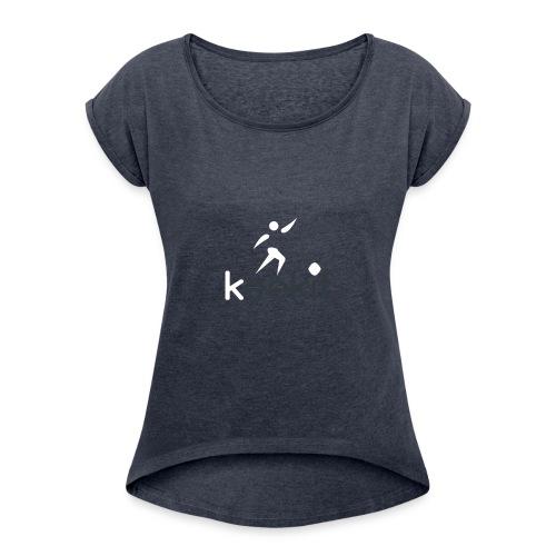 keekit - T-shirt à manches retroussées Femme
