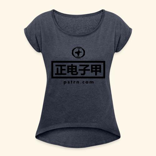 positron design asia pacific - Frauen T-Shirt mit gerollten Ärmeln