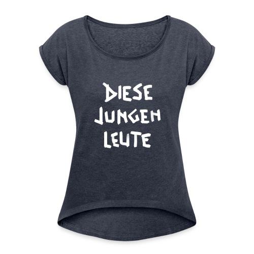 bento Shirt - Frauen T-Shirt mit gerollten Ärmeln