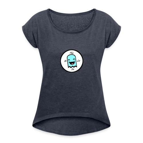 TheIoLoSo - Maglietta da donna con risvolti