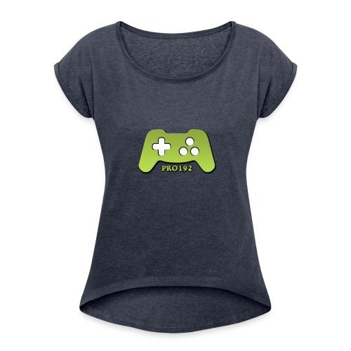 Progamer192 shirt - Vrouwen T-shirt met opgerolde mouwen