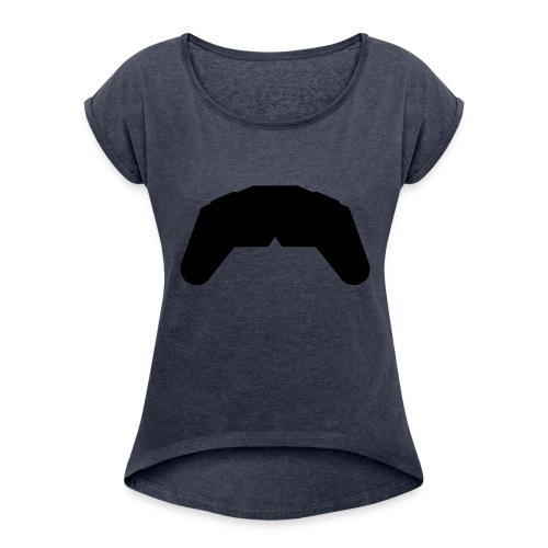 Manette - T-shirt à manches retroussées Femme