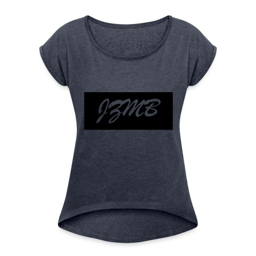 Official JZMB Apparel LOGO - Women's T-Shirt with rolled up sleeves